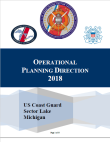 Operational Planning Direction FY18