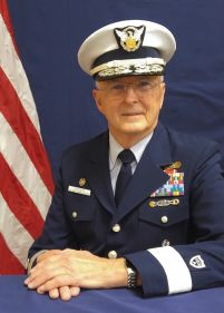District Commodore David Johnsen